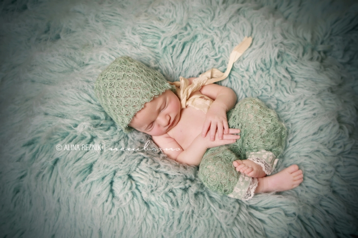 New York Newborn Photography, Sleeping Baby