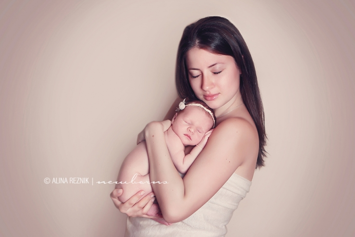 Mother with a Newborn Daughter